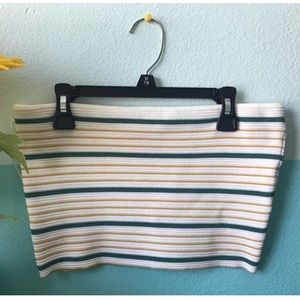 Striped tube top from pacsun!